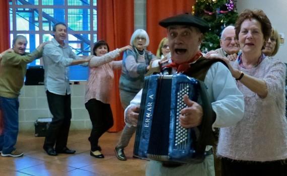 Danse à la Fête des Ainés 2016