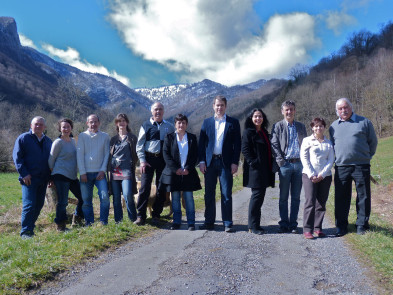 Photo de groupe - Vivre à Arbas