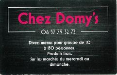 Carte Chez Domys