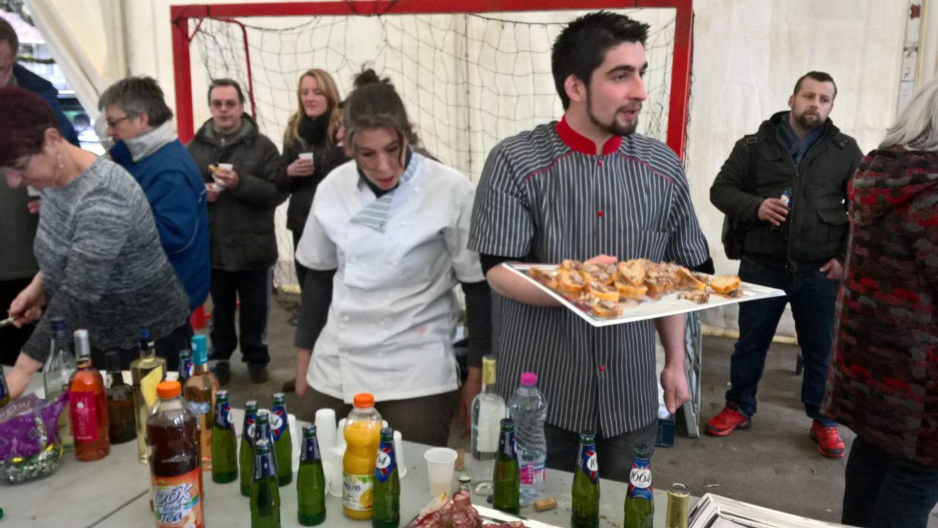 Inauguration de la boucherie