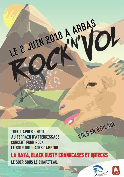 Affiche Rock-N-Vol
