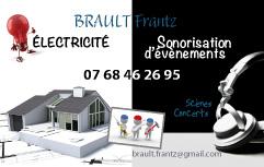 carte de visite Frantz Brault