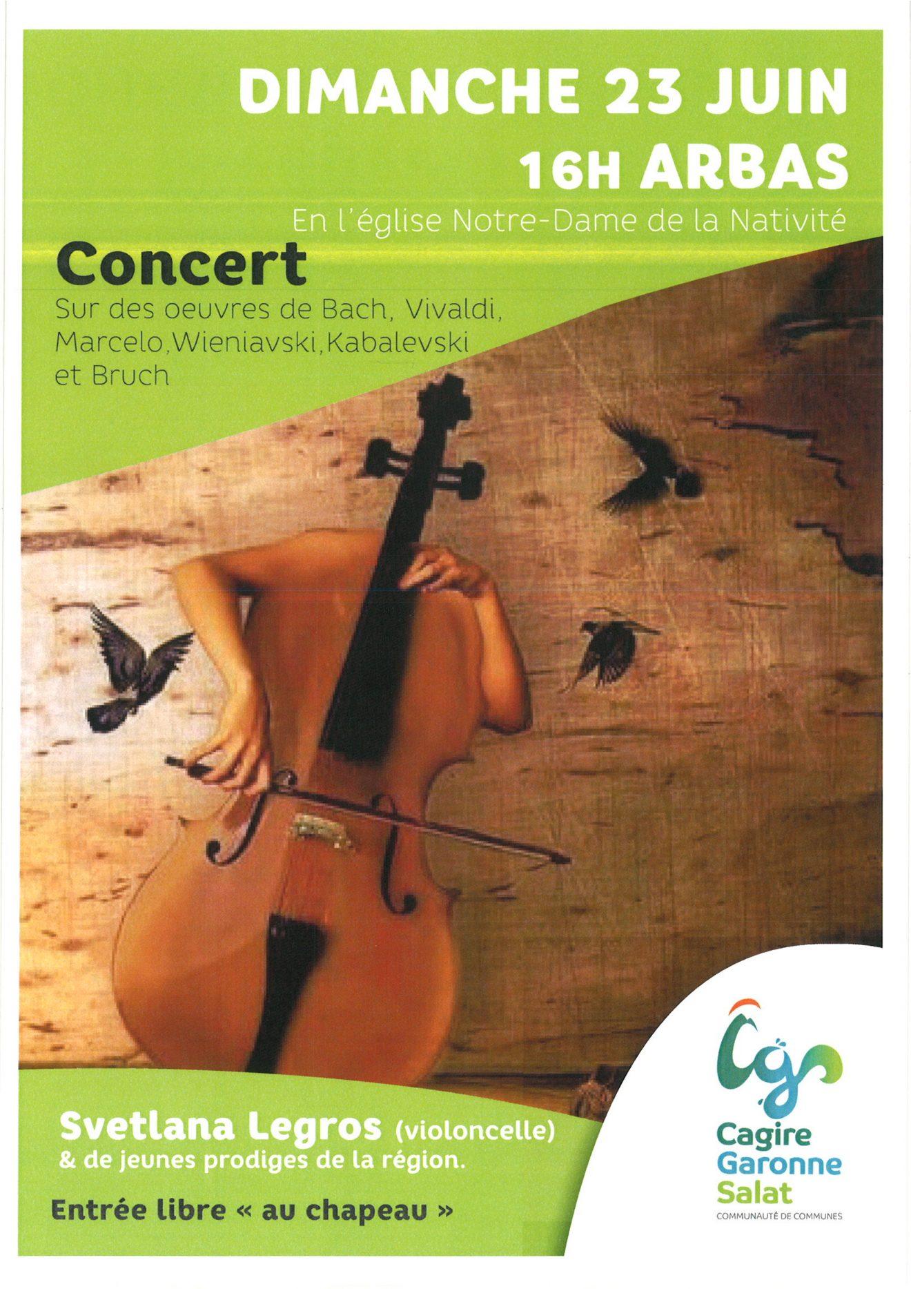 affiche concert eglise