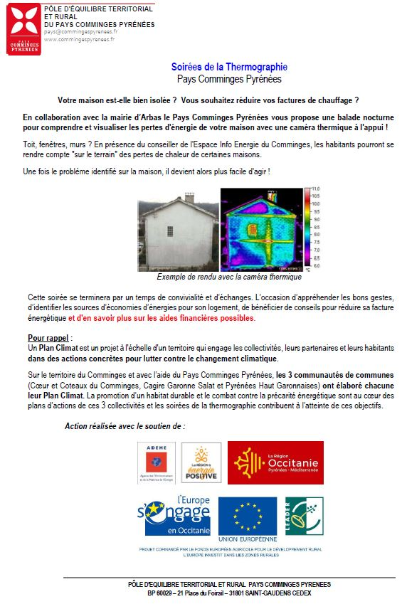 soiree 2020 thermographie